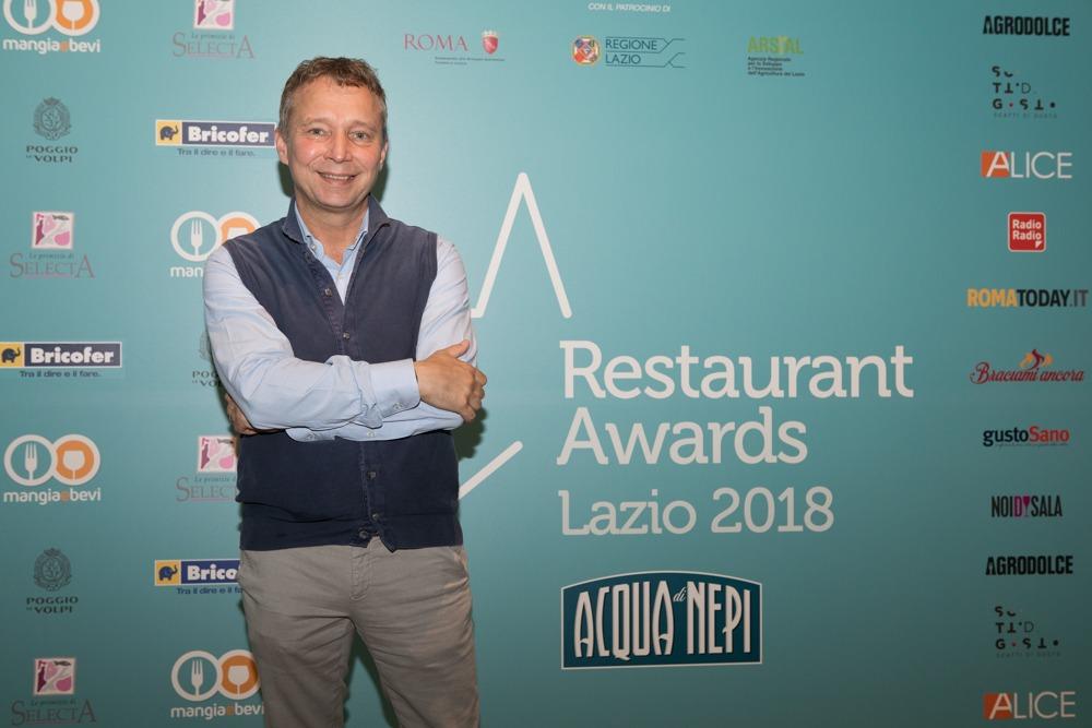 Lazio Restaurant Awards: la Barrique by Oliver migliore novità del 2018